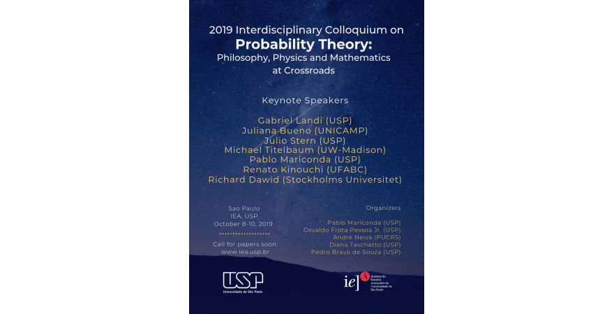 2019 Interdisciplinary Colloquium on Probability Theory