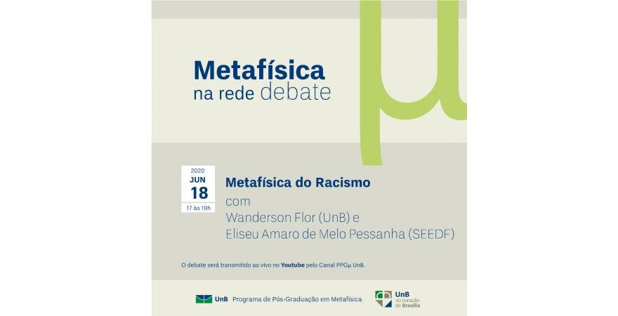 Metafísica na Rede - Debate Metafísica do Racismo