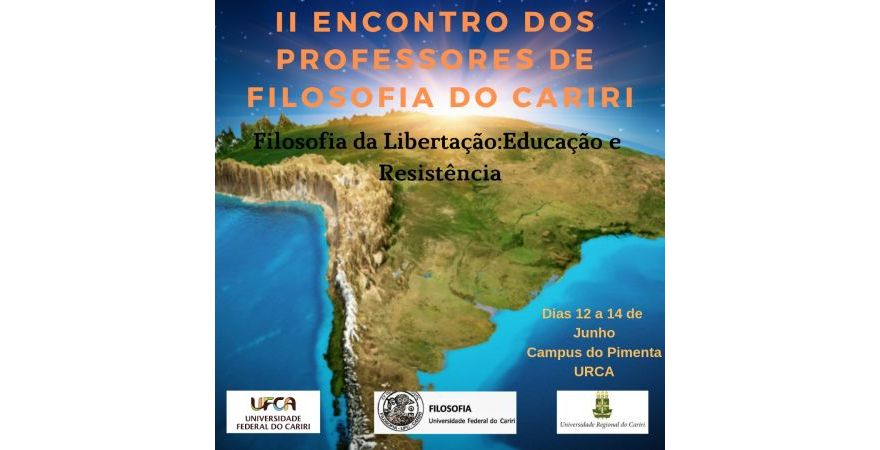 II Encontro de Professores de Filosofia do Cariri