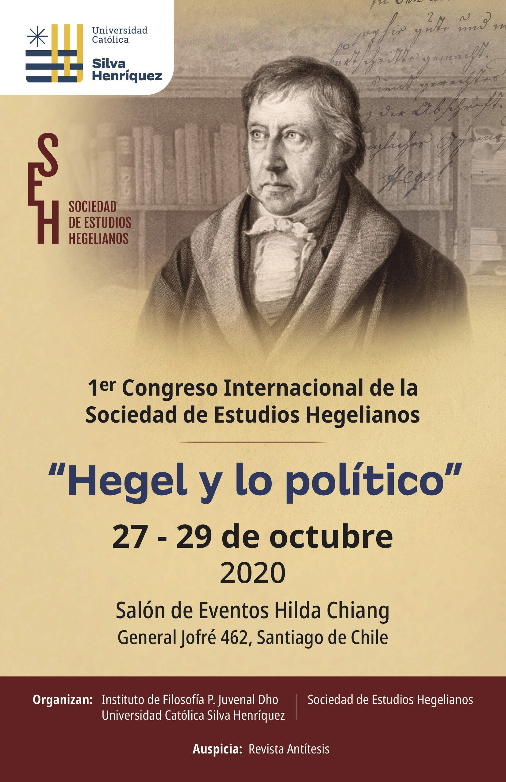 1st International Congress of Sociedad de Estudios Hegelianos